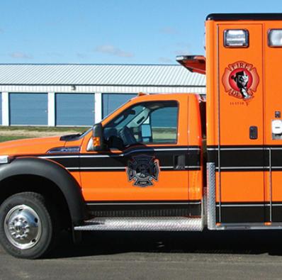 Emergency Vehicle Graphics in IA