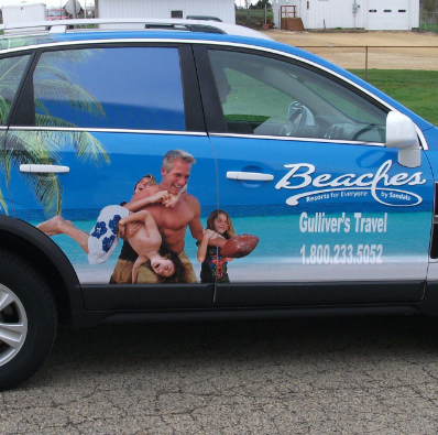 Vehicle wraps in IA